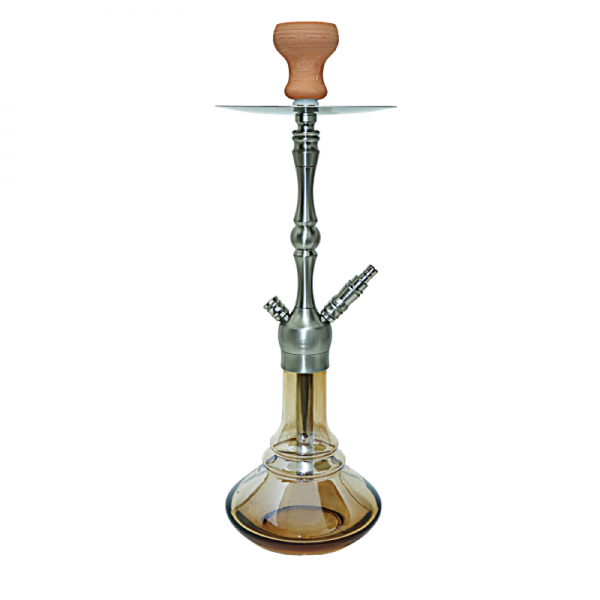 Terminator 500 - Stainless Steel Color - Shining Amber - Schliff