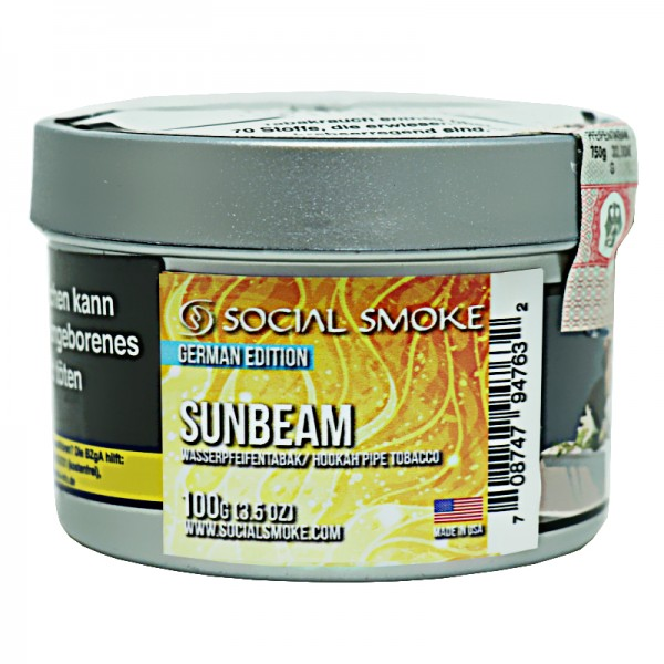 Social Smoke Tobacco 100 g - SUNBEAM