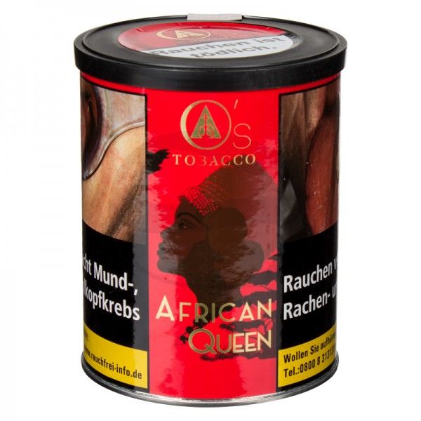 O's Tobacco Red 1kg - African Queen