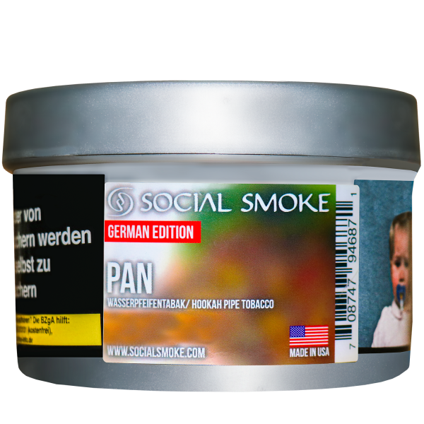 Social Smoke Tobacco 250 g - PAN