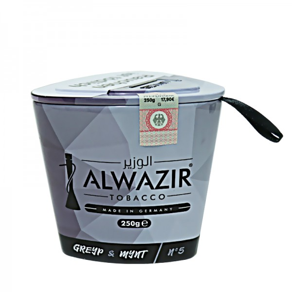 Alwazir Tobacco 250g - No. 5 Greyp &