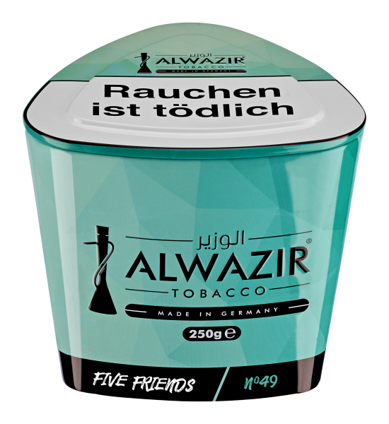 Alwazir Tobacco 250g - No. 49 Five Friends