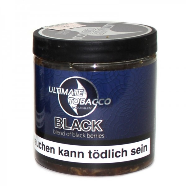 Ultimate Tobacco 150 g - Black