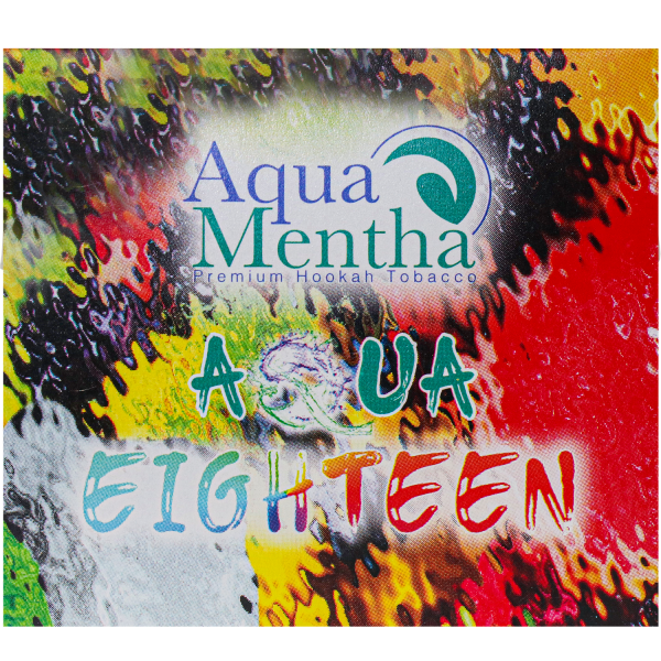 Aqua Mentha Premium Tobacco 200g - Eighteen (ATH Molasse - Aqua One 25 ml dazu kaufen)
