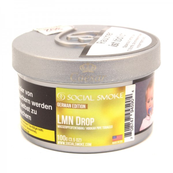 Social Smoke Tobacco 100 g - LMN DROP
