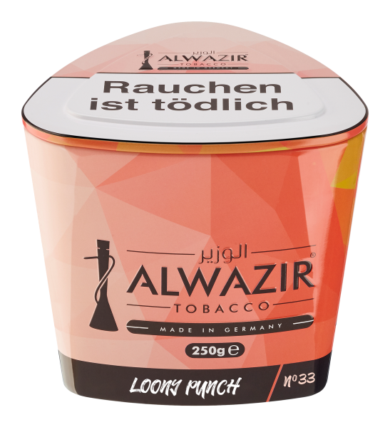 Alwazir Tobacco 250g - No. 33 Loony Punch