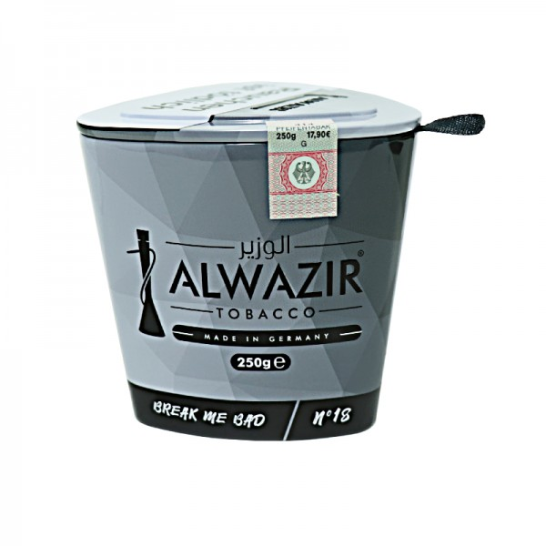 Alwazir Tobacco 250g - No. 18 Break Me Bad