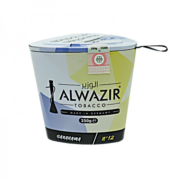 Alwazir Tobacco 250g - No. 12 Banarama