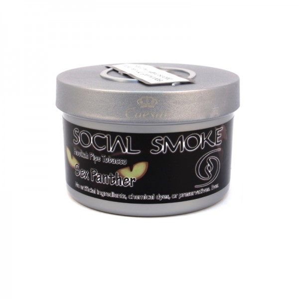 Social Smoke Tobacco 100 g - SEX PANTHER