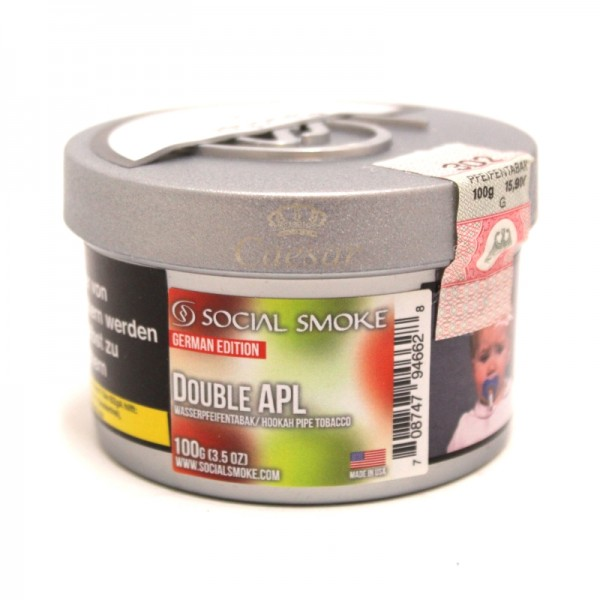 Social Smoke Tobacco 100 g - DOUBLE APL