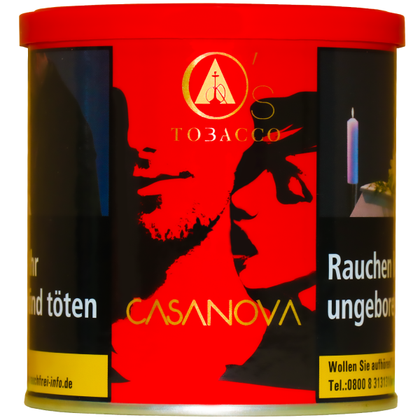 O's Tobacco Red 200g - Casanova