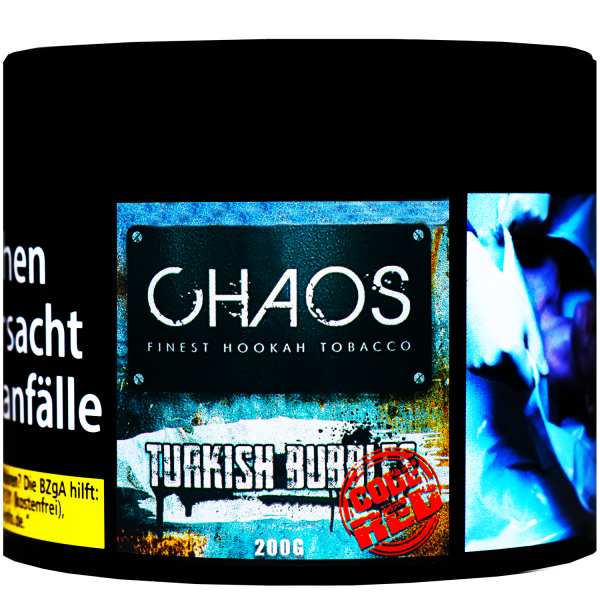 Chaos 200 g - Turkish Bubbles - Code Red