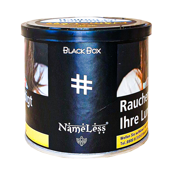 NameLess Tobacco 200g - #40 Black Box